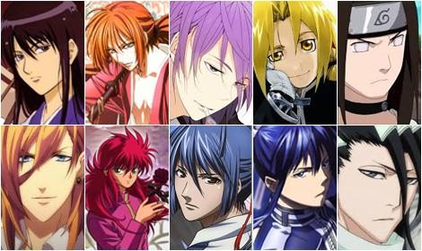 Bảng xếp hạng 10 nhân vật tóc dài đẹp trai trong Anime