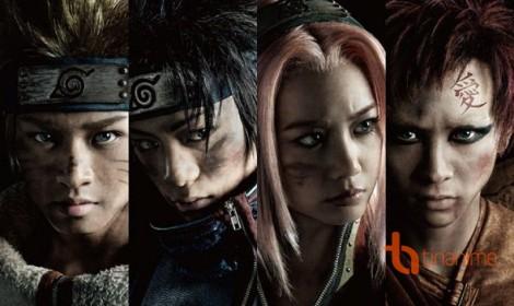 Công bố các diễn viên của Naruto nhạc kịch (lần 1)