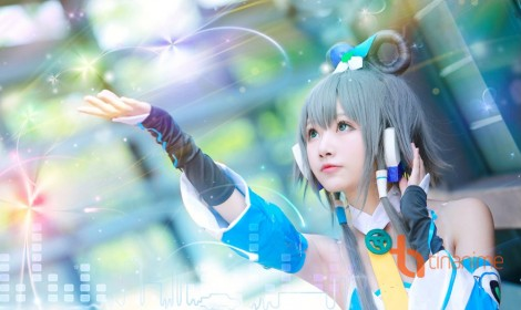 Bộ ảnh cosplay Miku do bạn coser Tiểu Nhu thực hiện