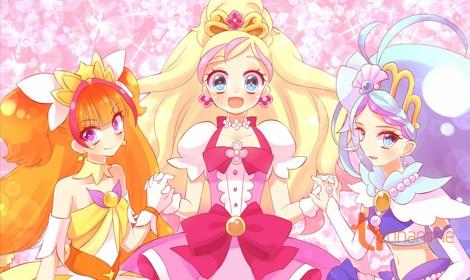 """Anime """"Go! Princess PreCure"""" ra mắt vào tháng 2 năm 2015"""