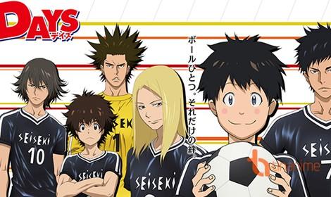 Days - Một anime bóng đá đỉnh cao sắp ra mắt fan