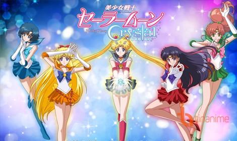 Thuỷ thủ mặt trăng (Sailor Moon Crystal) đã ấn định thời gian ra mắt phần 3