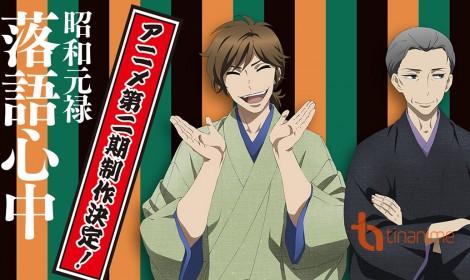 Anime Shōwa Genroku Rakugo Shinjū sẽ có Season 2!!