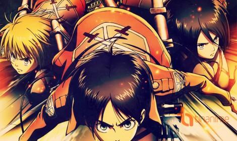 Attack On Titan đánh bật One Piece về giá trị bản quyền thương mại năm 2015