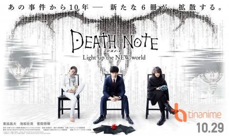 Tên chính thức của Death Note 2016 Live-Action, Poster mới được ra mắt