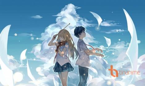 """""""Your Lie In April"""" Anime mang màu sắc của Haru Haru (Big Bang)"""