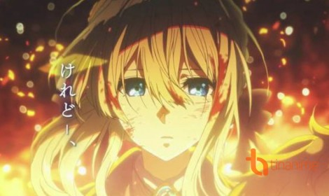 Bom tấn anime 'Violet Evergarden' chính thức được công bố