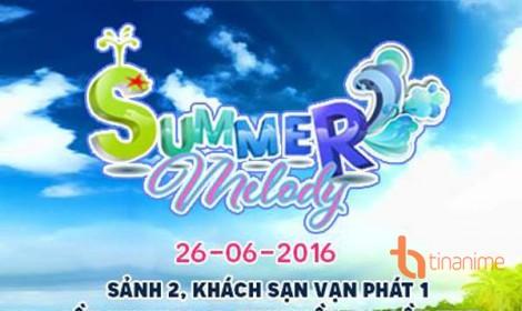 Lễ hội Summer Melody sẽ được tổ chức tại Cần Thơ
