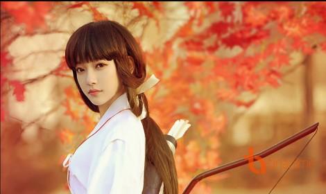 Bộ ảnh cosplay nàng Kikyo đẹp động lòng người