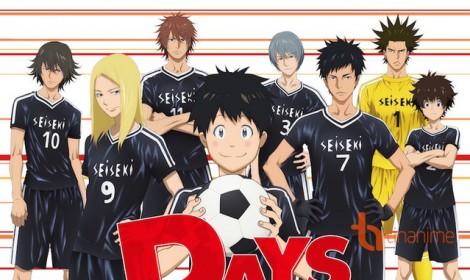 Anime DAYS công bố dàn diễn viên tham gia