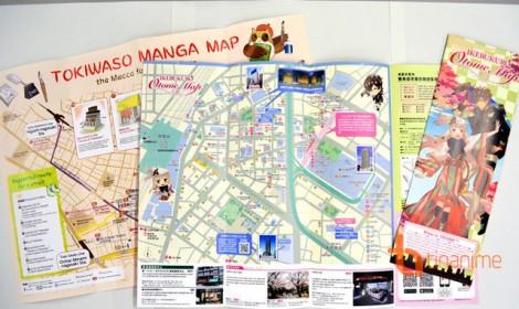 Quận Toshima ở Tokyo cung cấp bản đồ anime và manga cho du khách