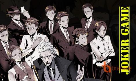 Anime Joker Game tiết lộ bài hát chủ đề, nhân vật chủ chốt và một số nhân vật khác