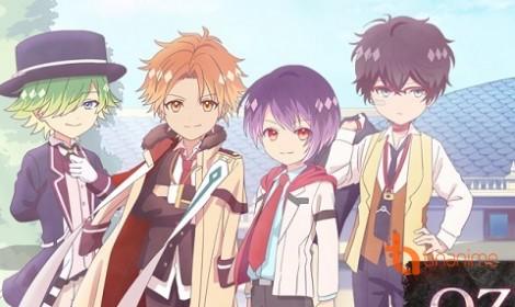 Anime OZMAFIA!! ngộ nghĩnh và đầy màu sắc sắp sửa ra mắt trong mùa Hè này