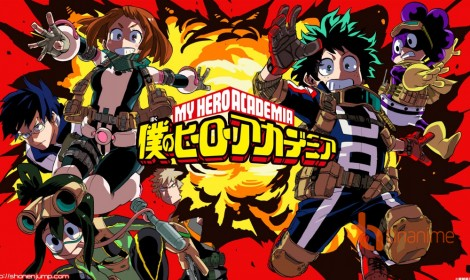 Boku no Hero Academia tung video album soundtrack 13 phút cực chất