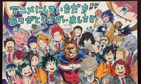 Boku no Hero Academia - kết thúc cuộc hỗn chiến và video mở đầu cho kỷ nguyên mới