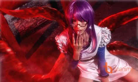 Ám ảnh với những hình ảnh cosplay Tokyo Ghoul - phần 1