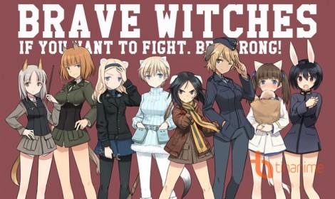 """TV anime """"Brave Witches"""" tung promo video thứ 2 cùng dàn nữ chính đẹp long lanh"""