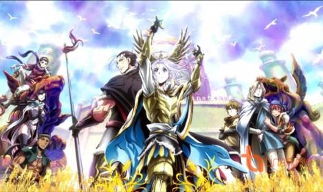 """Visual chính của """"The Heroic Legend of Arslan: Dust Storm Dance"""" hứa hẹn một chuyến phiêu lưu đầy hào sảng"""