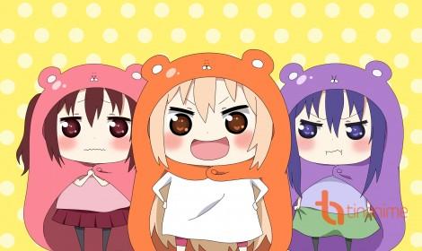 Spinoff của Umaru-chan kỷ niệm chương 7 với một bức hoạ theo phong cách anime