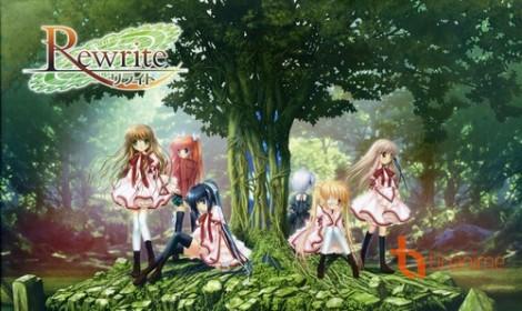 """Anime """"Rewrite"""" sẽ có tập phim ra mắt ấn tượng dài 1 tiếng đồng hồ"""