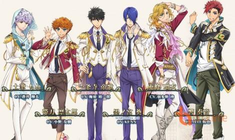 """Anime """"Magic-kyun Renaissance"""" ra mắt dàn mỹ nam long lanh vào tháng 10 tới"""
