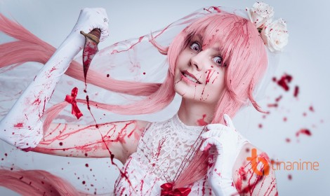 Cân nhắc trước khi xem bộ cosplay Yuno Gasai kinh dị này!