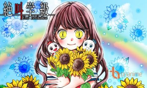 """Tập mới của anime """"Zekkyou Gakkyu: Tensei"""" sẽ có chủ đề về công viên kinh hoàng"""