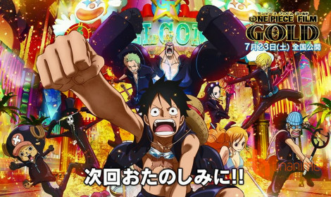One Piece Film Gold tung previews ca khúc phim mới
