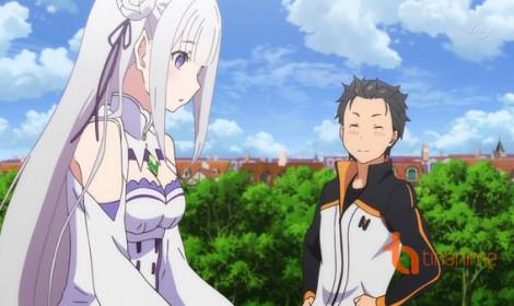 Re:Zero giật vị trí đứng đầu trên bảng xếp hạng Anime mùa xuân 2016
