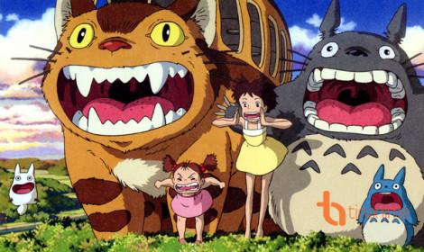 Choáng váng với thực đơn tại triển lãm Ghibli studio