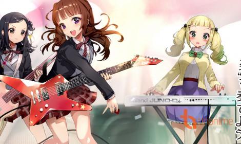 BanG Dream! - Một dự án anime hoành tráng đang được tiến hành