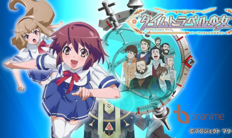 Trailer và hai ca khúc Opening - Ending của anime Time Travel Shoujo: Mari Waka to 8-nin no Kagakusha-tachi