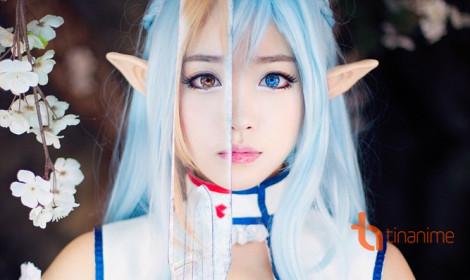 Nàng Asuna bước ra đời thực từ thế giới Sword Art Online