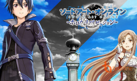 Game Sword Art Online: Hollow Realization tung trailer tiếng Anh mới toanh