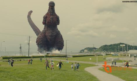 Một quái vật khổng lồ xuất hiện tại Nhật Bản!!!