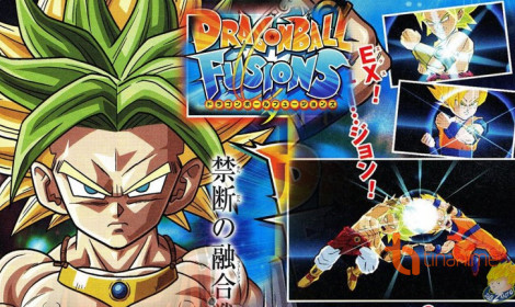Game 3DS Dragon Ball Fusions tung preview mới