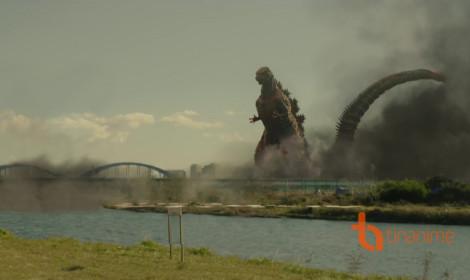 Quái vật khổng lồ Godzilla đã lộ diện!