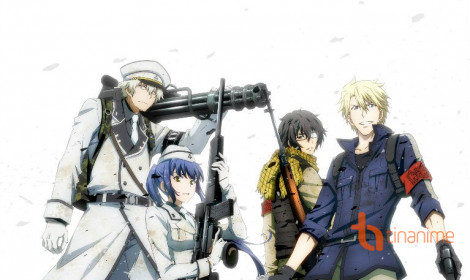Ra mắt anime Aoharu x Machinegun vào tháng 11 sắp tới!
