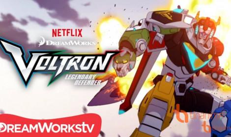 Anime Voltron: Legendary Defender sẽ có phần 2 vào cuối 2016