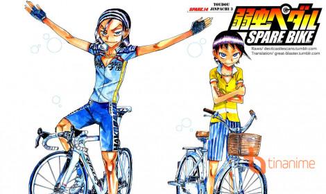Dàn diễn viên sẽ tham gia anime thể thao nổi tiếng Yowamushi Pedal: Spare Bike