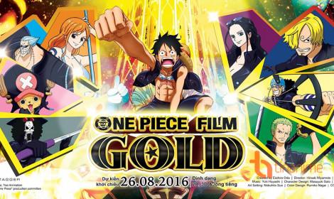 Doanh thu khủng của One Piece Film Gold!