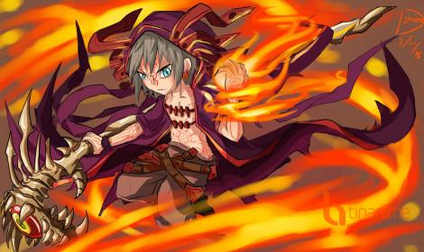 Siêu phẩm nhập vai Chain Chronicle có anime!