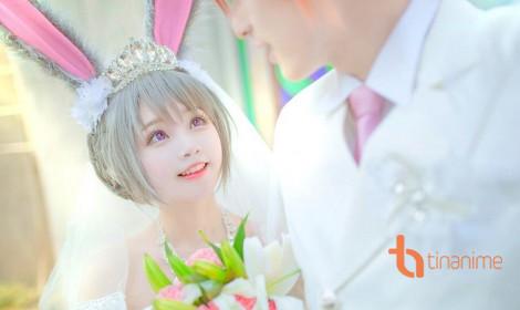 Hôn lễ đẹp như mơ với bộ cosplay của Tiểu Nhu