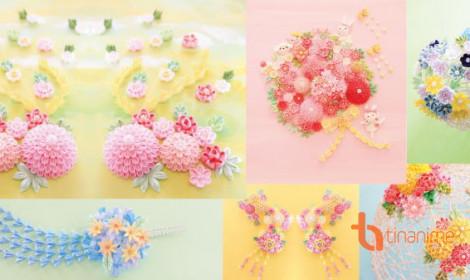Tự làm đồ trang trí đẹp lung linh với Tsumami zaiku - Nghệ thuật gấp vải Nhật Bản