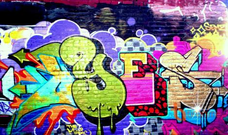 Nghệ thuật Graffiti trên những bức tường Shibuya PARCO