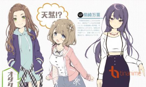 Hé lộ diễn viên lồng tiếng cho anime Girlish Number