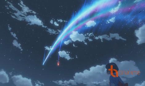 TOHO tiếp tục quảng bá cho anime Kimi no Na wa (Your Name)