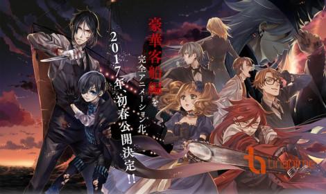 Anime Hắc Quản Gia tung Teaser nóng hổi