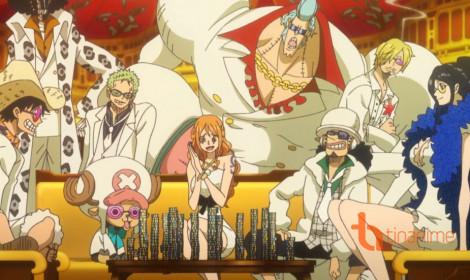 One Piece Film Gold xếp thứ mấy trong bảng xếp hạng về doanh thu trong tuần 3 công chiếu?