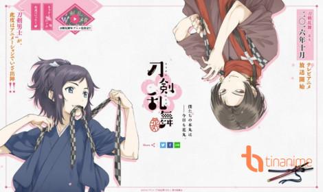 Trailer thứ 2 của anime mới Touken Ranbu -Hanamaru- giới thiệu dàn nhân vật